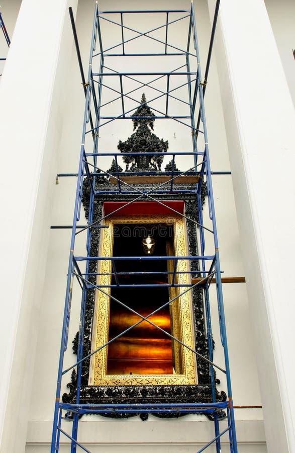 Download Renovate Chapel Window Of Wat Pho Stock Photo - Image: 27767346