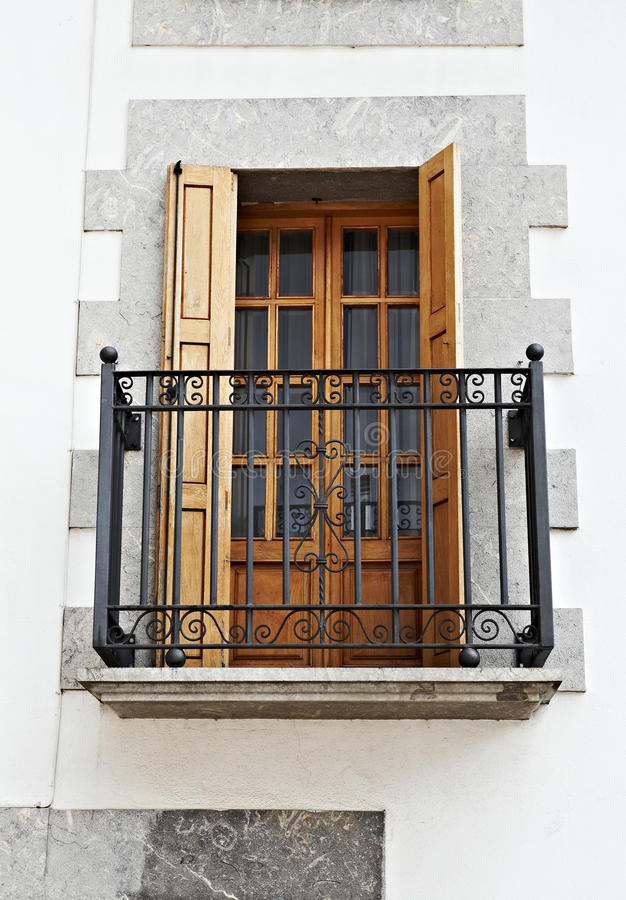 Download Renovated Facade stock image. Image of classic, glass - 19630907