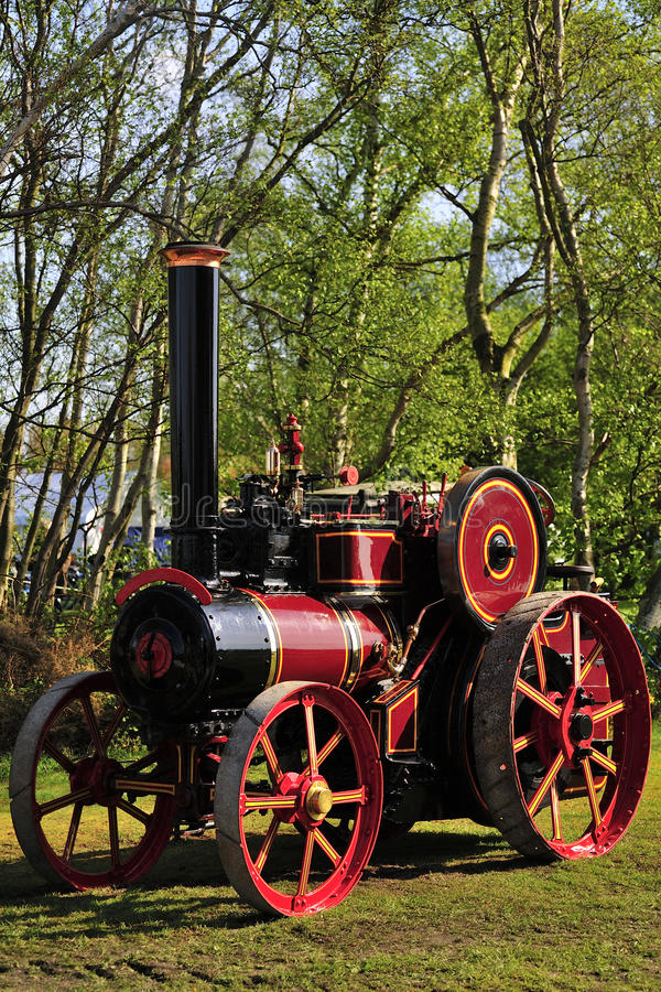 Download Renovated Historic Traction Engine Stock Image - Image: 28466229