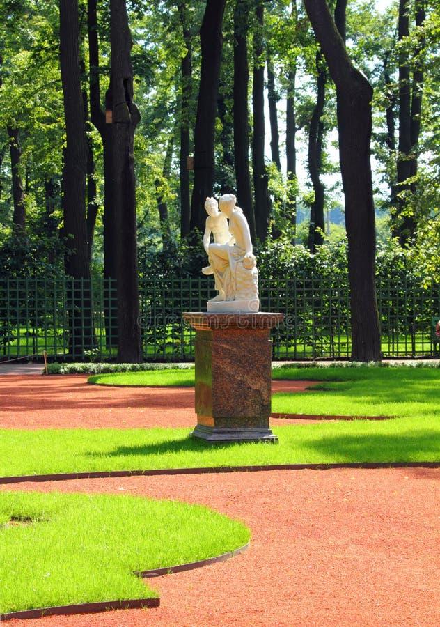 Download Renovated Summer Garden Park In St. Petersburg Stock Photos - Image: 27093973