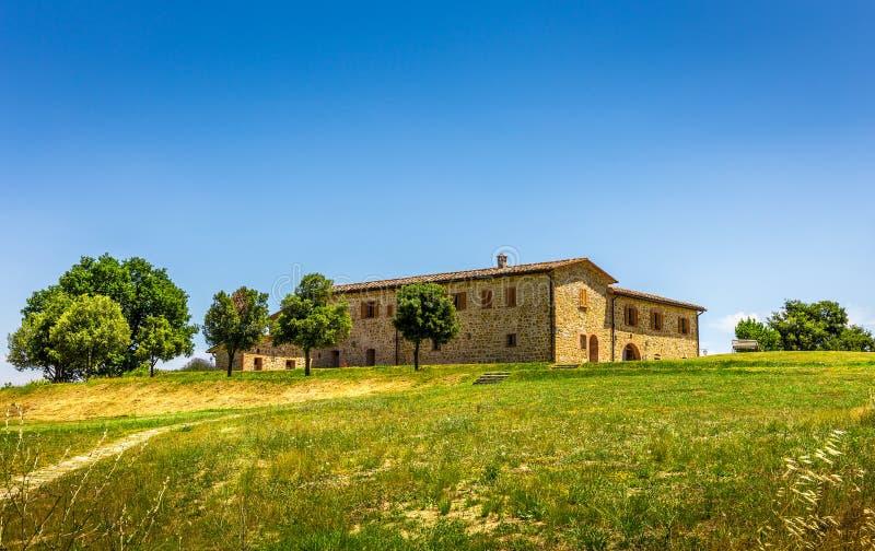 Renovated tuscan manor royalty free stock photo