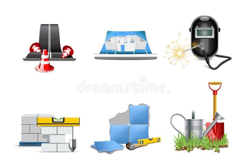 Download Renovation Icons | Bella Series 2 Stock Vector - Image: 20365394
