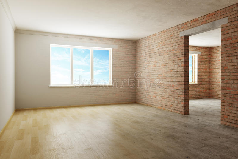 Download Renovation in progress stock illustration. Image of residential - 13820692