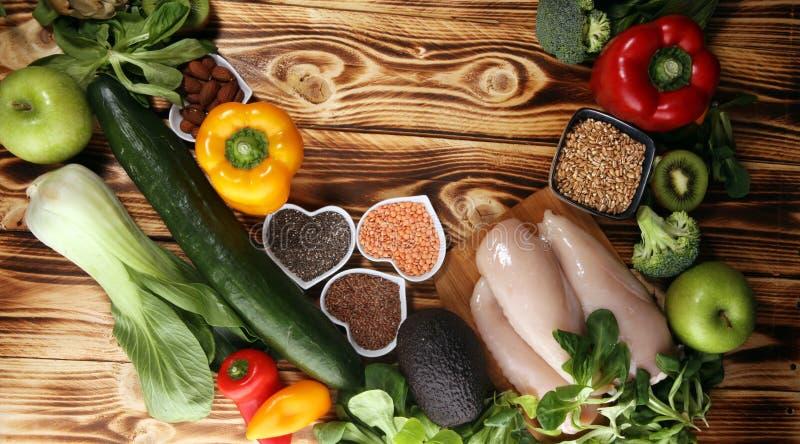 Rent ätaval för sund mat E arkivbilder