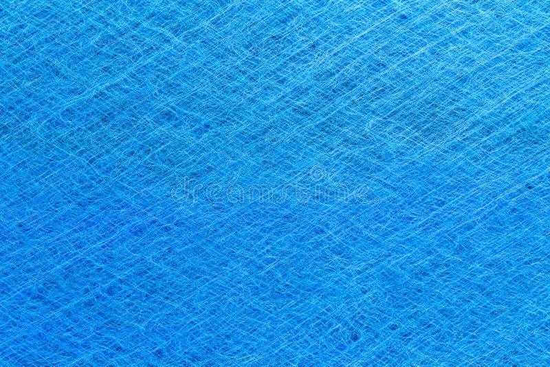 Rent blått dynamiskt polariserat luftmicrofiberfilter arkivfoton