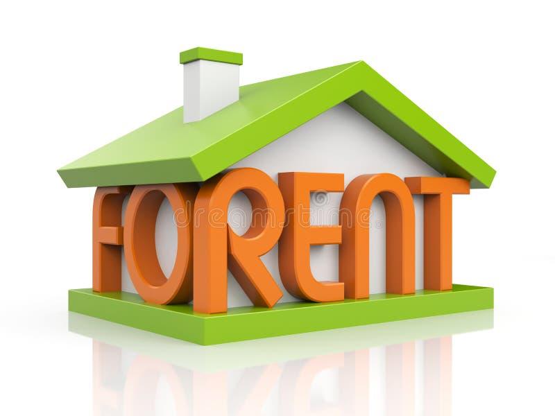 For rent vector illustration