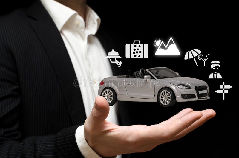 Download Holiday car stock photo. Image of renting, little, escapade - 30121686
