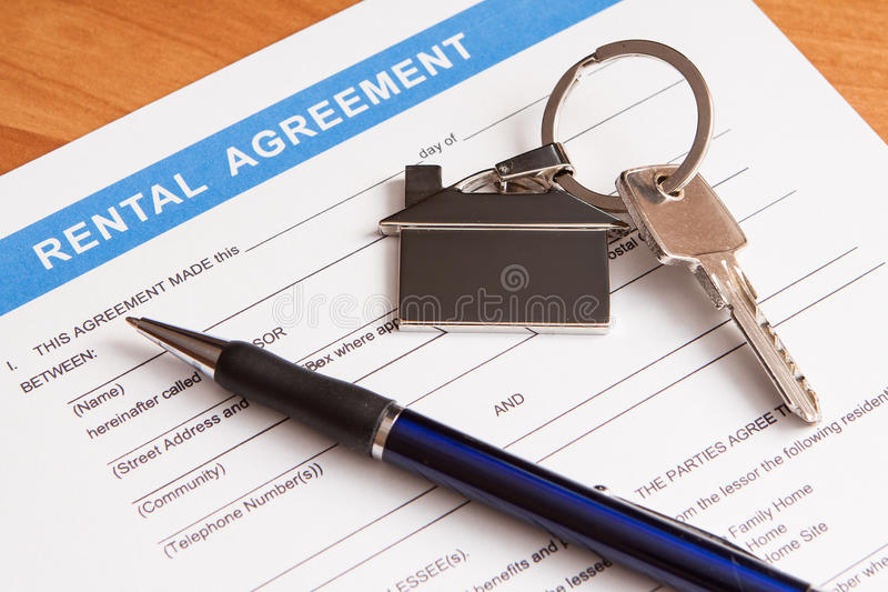 Download Rental Agreement Form Royalty Free Stock Images - Image: 27189179