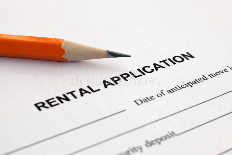 Download Rental application stock image. Image of business, legal - 17090825