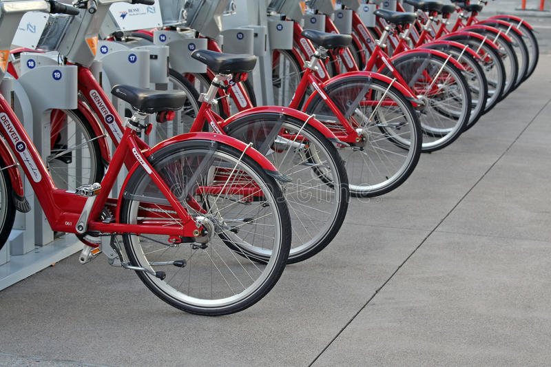 Download Rental Bikes editorial image. Image of commuter, cycle - 17962940