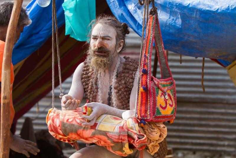 Download Renunciate Incondicional En El Kumbha Mela En La India Foto editorial - Imagen de festival, reunión: 42428831