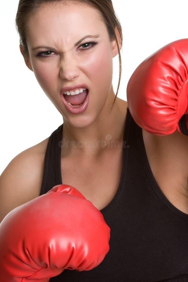 renversement de boxeur images stock
