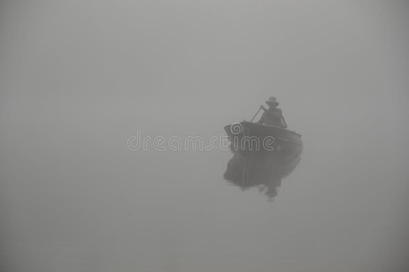 Renvoi de pêcheur photographie stock