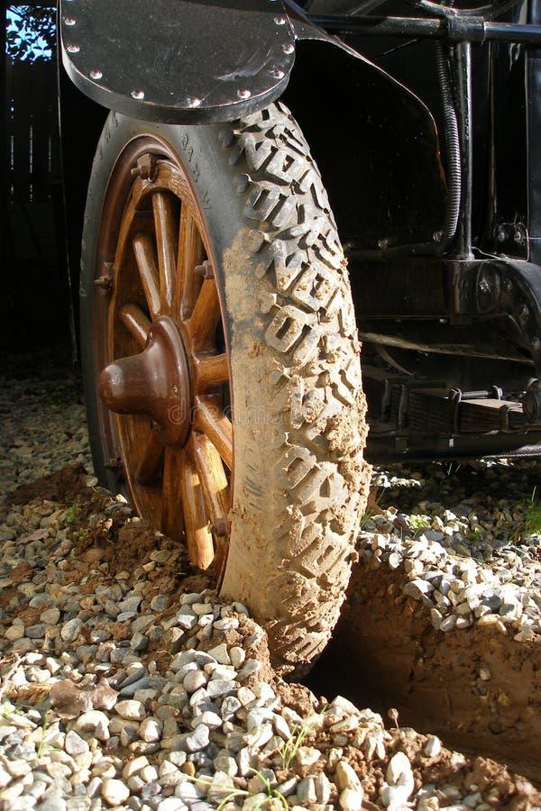 REO-Reis begraben in Mud lizenzfreie stockfotografie