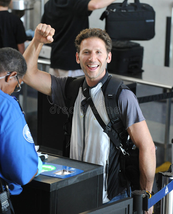 Repère royal Feuerstein d'acteur de douleurs chez LAX photo stock