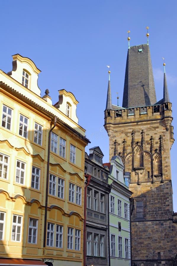 República checa, Praga: Opinião da cidade imagem de stock