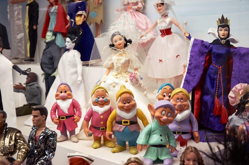 República checa Toy Museum em Praga 13 de junho de 2016 fotos de stock royalty free