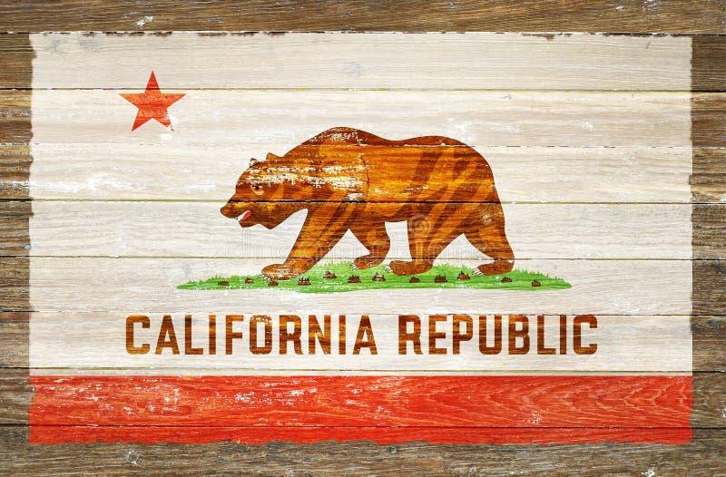 República de Califórnia ilustração royalty free