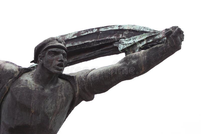 República del monumento de los consejos, Budapest foto de archivo libre de regalías