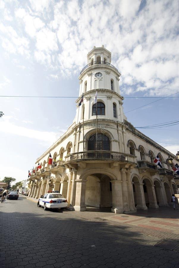 República Dominicana del palacio fotografía de archivo