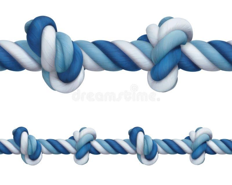 Rep med fnurror vektor illustrationer
