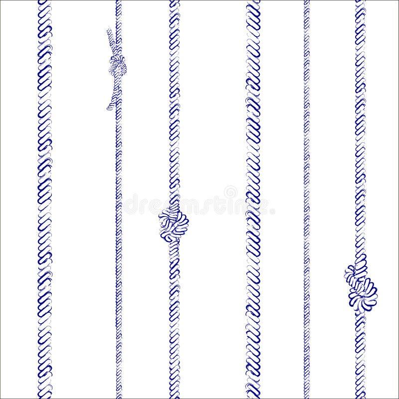 Rep och fnurenmodell stock illustrationer