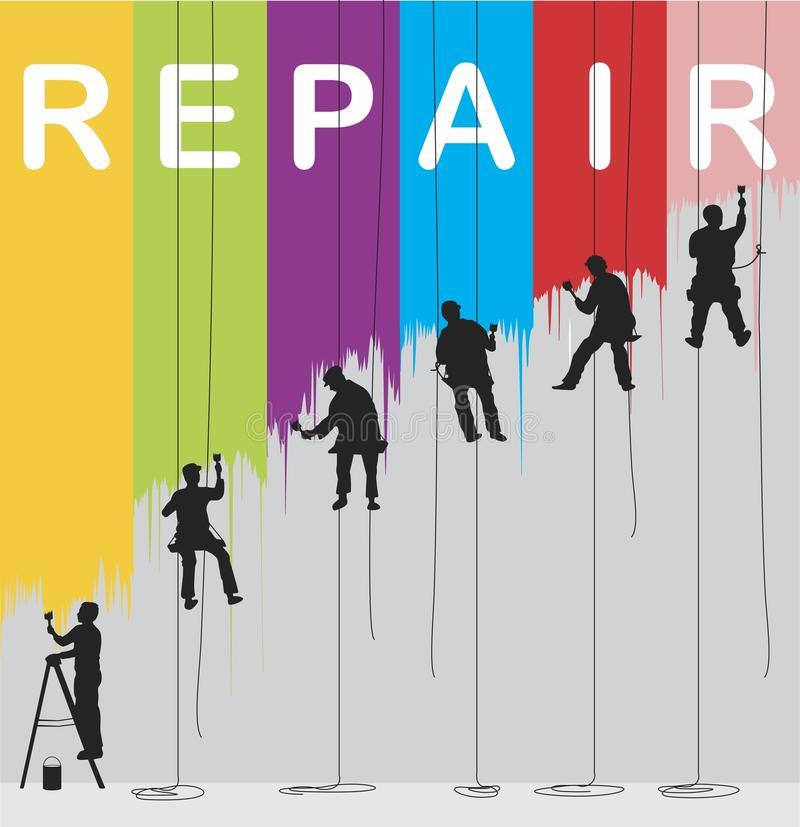 Repair. The fight against gray