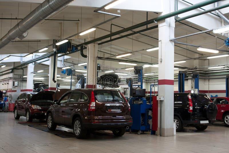 Download Repair garage stock photo. Image of turning, indoors - 26250410