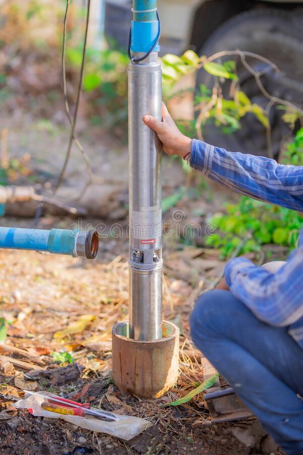 Repair Groundwater Pipes Stock Photo Image Of Pipe 179521762