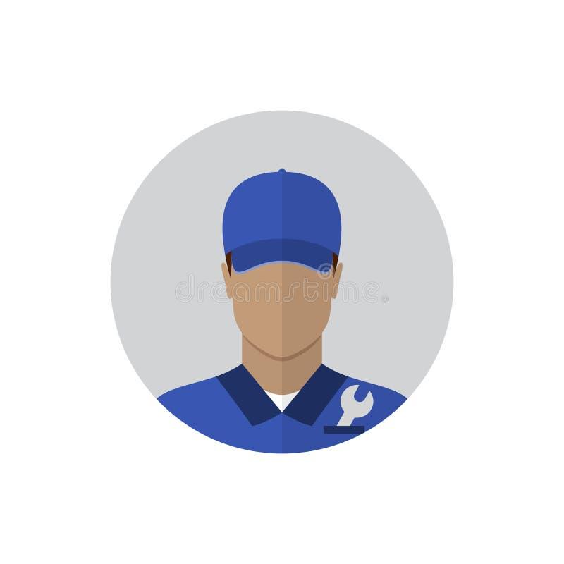 Repair man avatar vector illustration