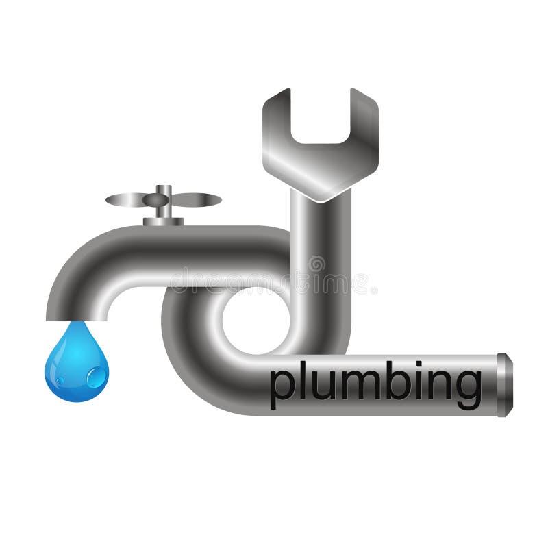 Repair plumbing symbol stock vector. Illustration of tool - 90474510