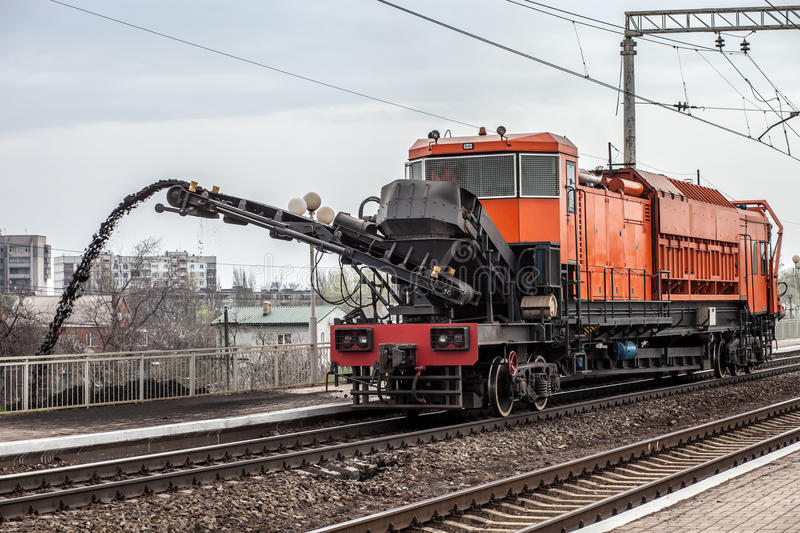 Download Repair of railway stock image. Image of power, cleaned - 24689361