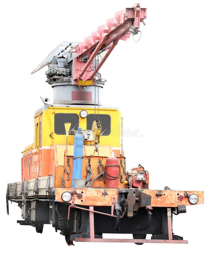 Download Repair train stock image. Image of manipulator, lift - 10474773