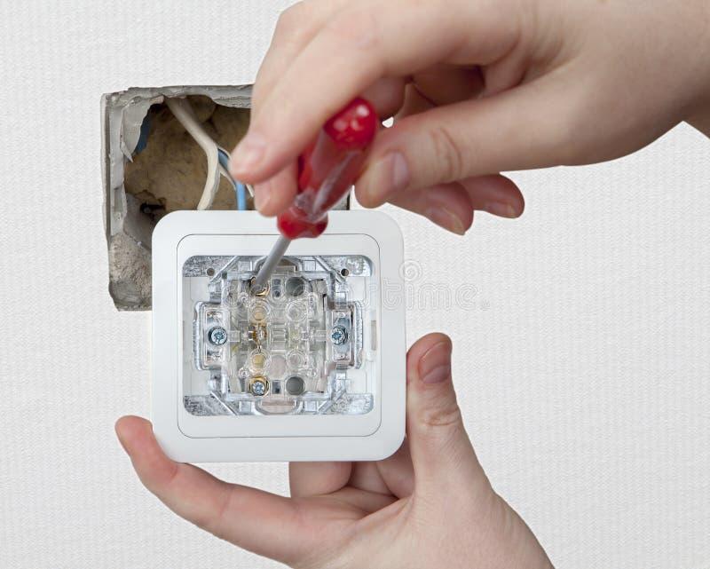 Repair Wiring Inside Apartment, Replacing Wall Light ...