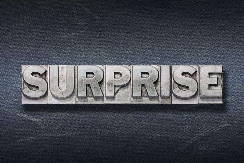 Repaire de mot de surprise image stock
