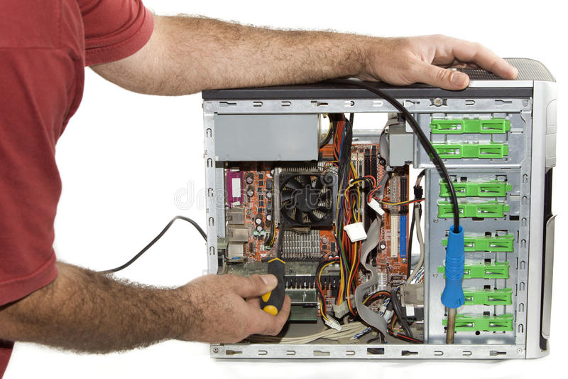 Repairing the computer