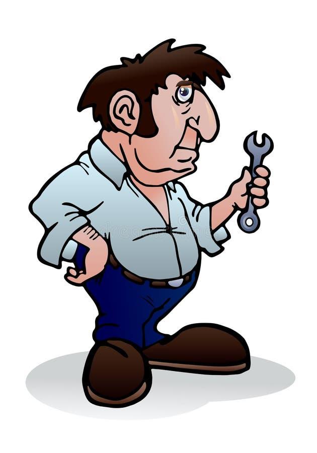 Repairing Machine Stock Image