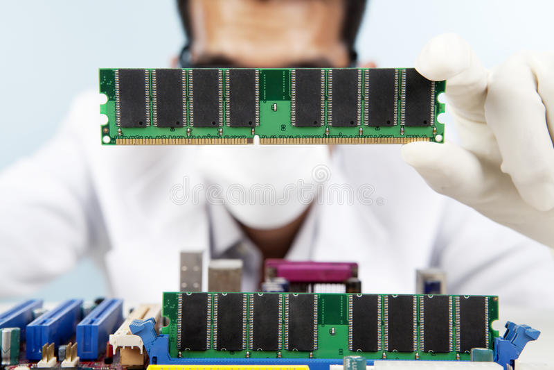 Repairing the motherboard