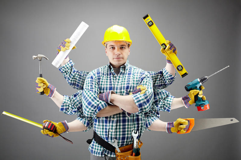 Download Repairman stock image. Image of person, caucasian, paint - 20095749
