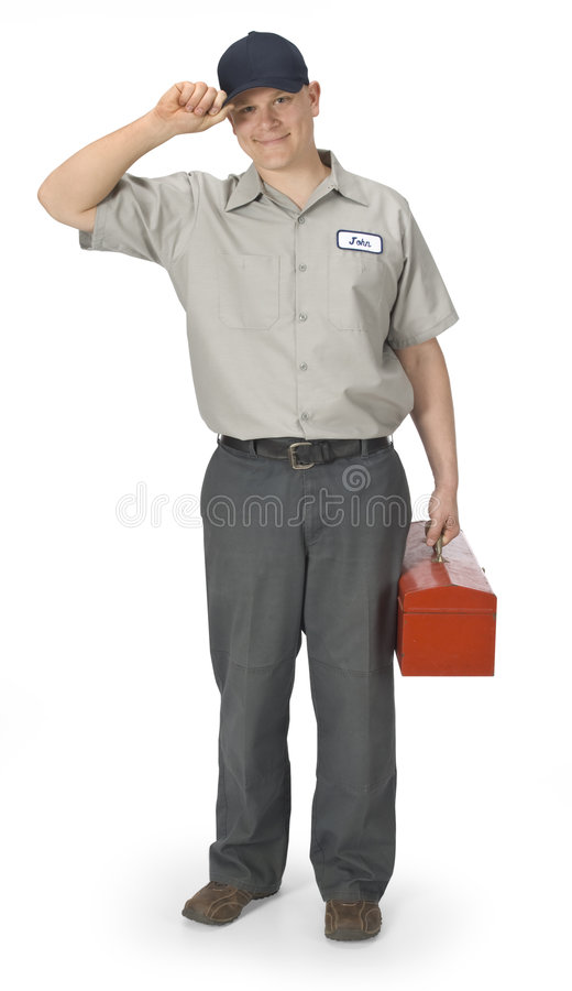 Download Repairman Stock Image - Image: 5122581