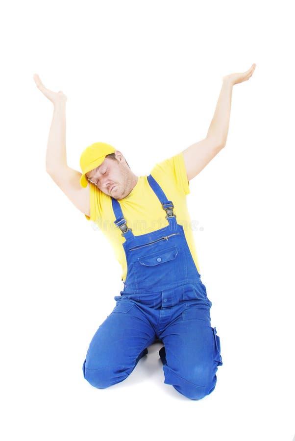 Download Repairman stock image. Image of repairman, hands, toiler - 9830977
