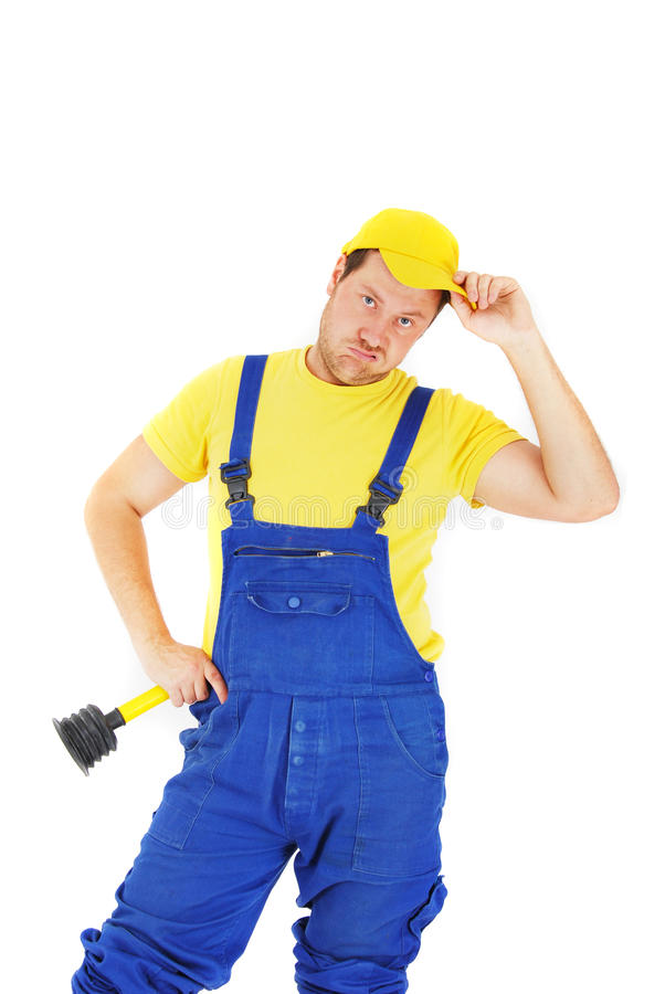 Download Repairman stock image. Image of builder, mechanic, serviceman - 9831303