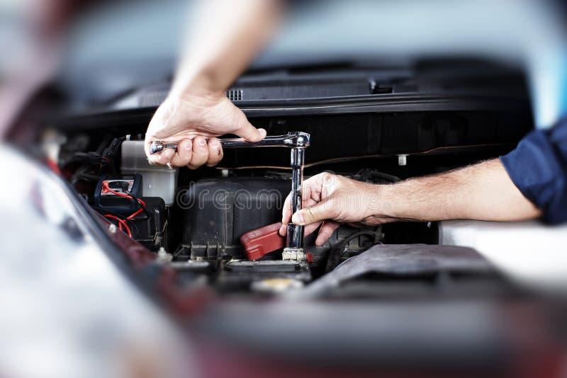 Reparación auto. fotografía de archivo