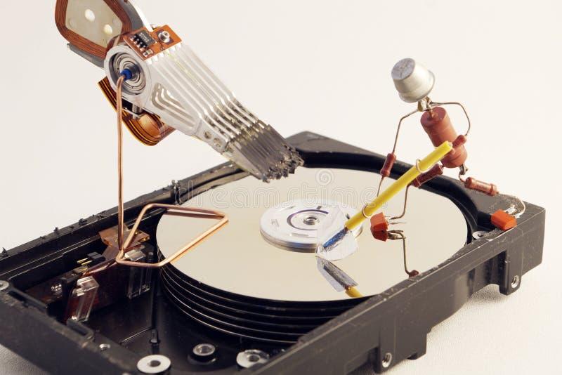 Reparación de HDD imágenes de archivo libres de regalías