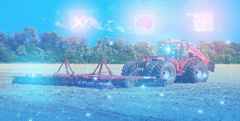Reparación y mantenimiento del tractor con la ayuda de tecnologías modernas, solucionando problemas por un intelecto artificial,