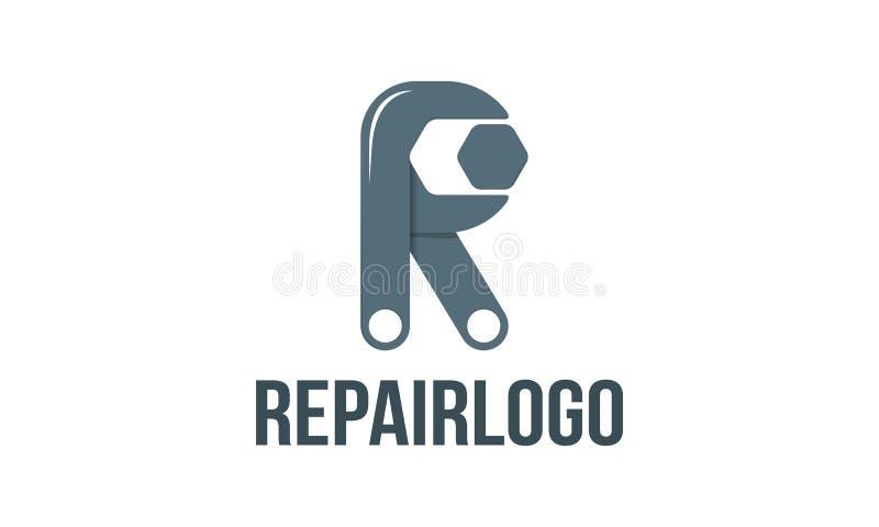 Reparatieembleem vector illustratie