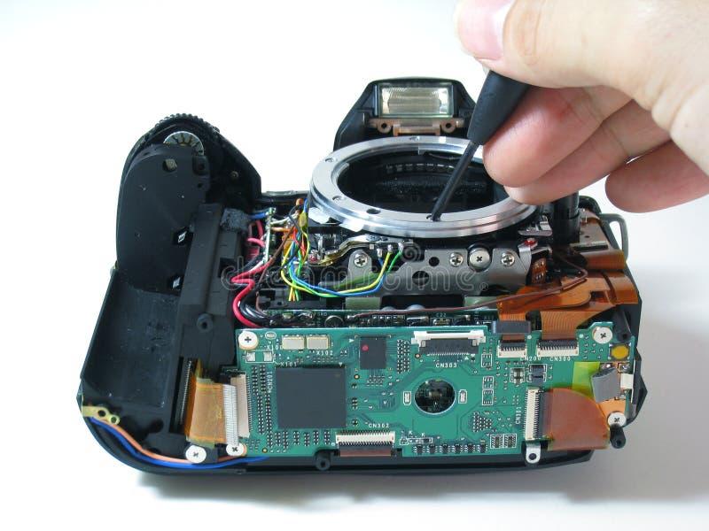 Reparatur der Digitalkamera vektor abbildung