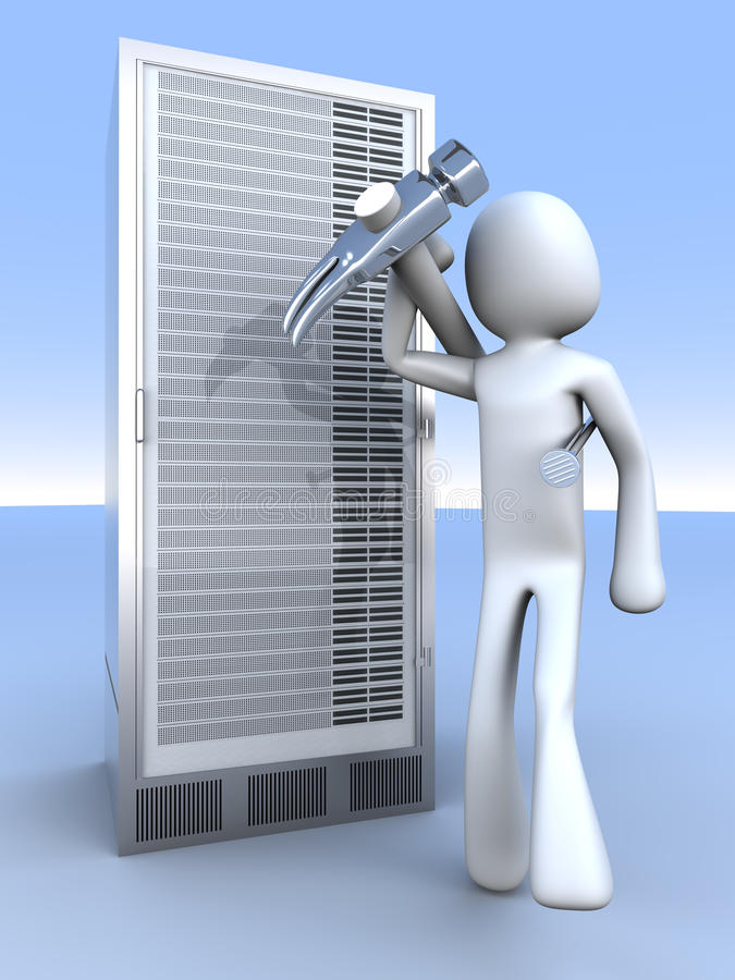 repare κεντρικός υπολογιστή&sigm απεικόνιση αποθεμάτων