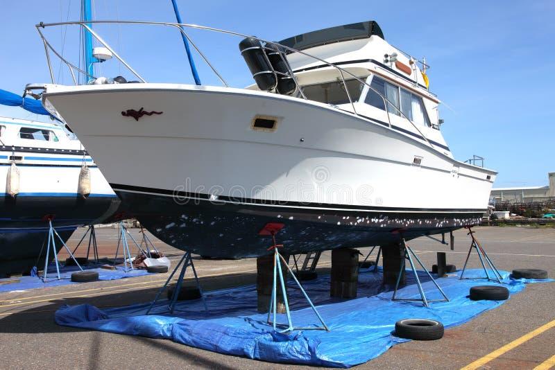 Repare a jarda para barcos, Astoria OU. imagens de stock royalty free
