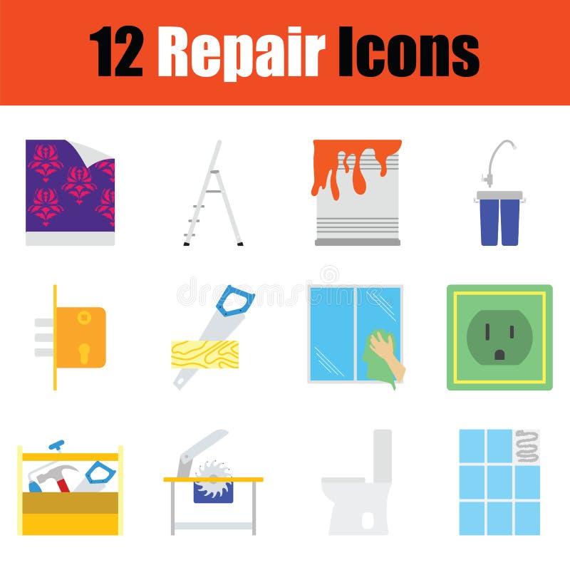 Repare o jogo do ícone ilustração royalty free